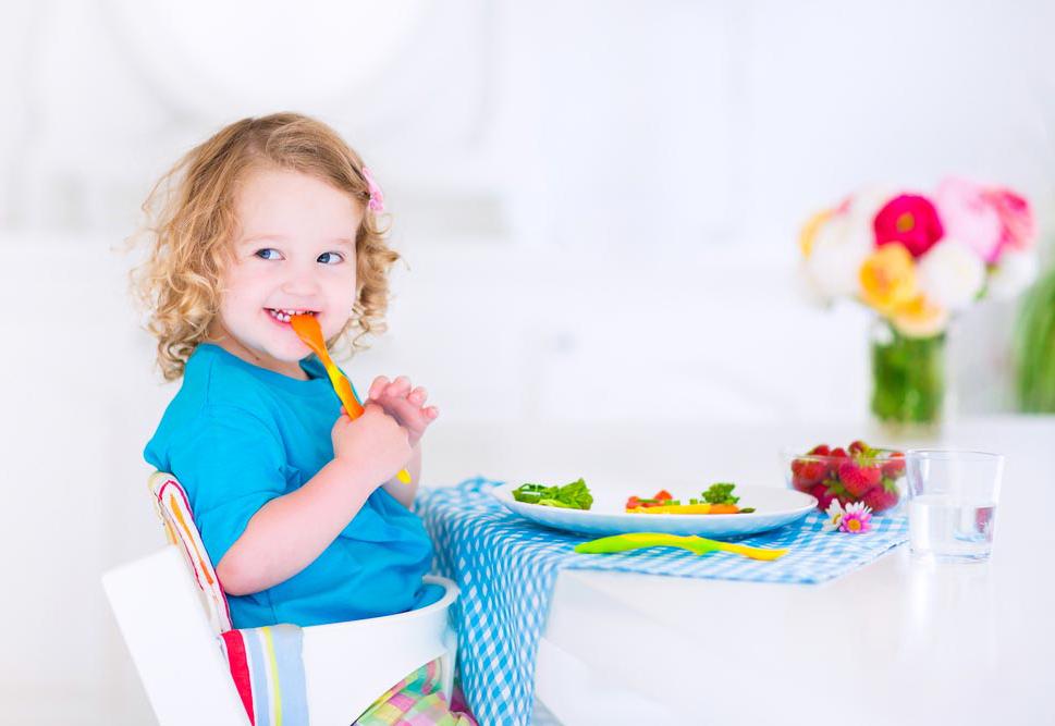 Il menù settimanale completo per i bambini da 1 a 3 anni
