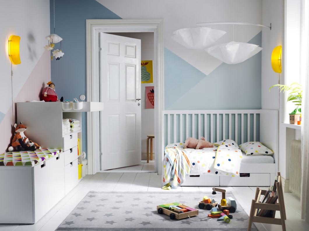 La cameretta Montessori con i mobili Ikea