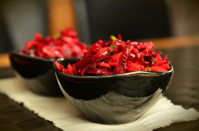 Barbabietola rossa: 3 ricette light