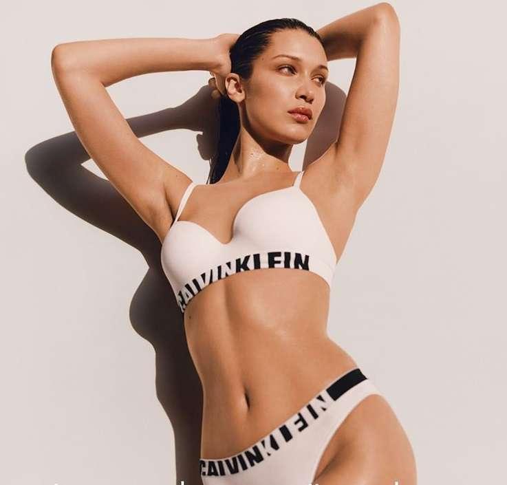Bella Hadid per Calvin Klein