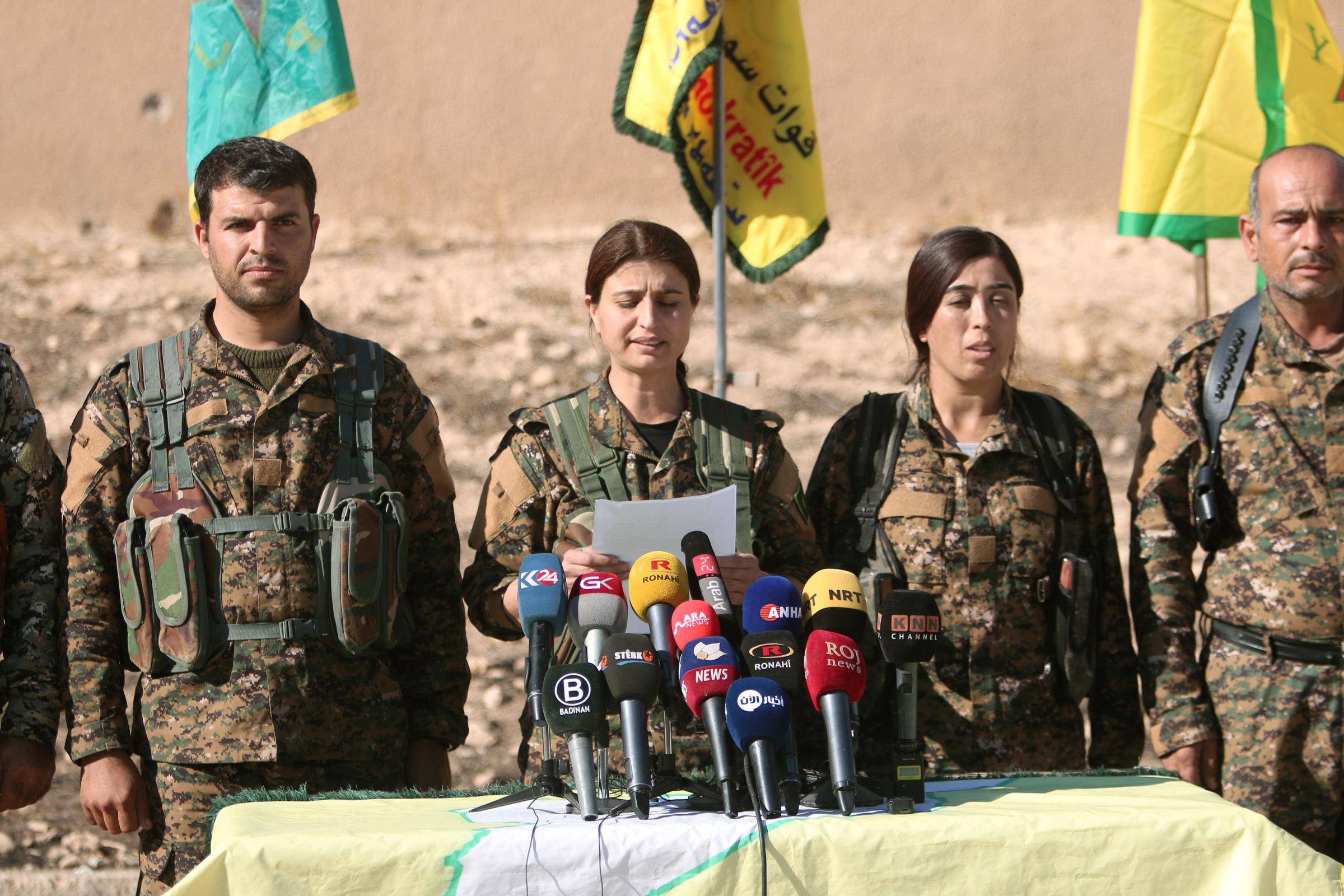 Isis, Forze democratiche siriane annunciano campagna per ripresa Raqqa