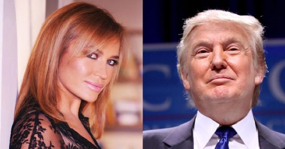 Flirt tra Lory Del Santo e Donald Trump: lui ci provò, ma lei disse di no