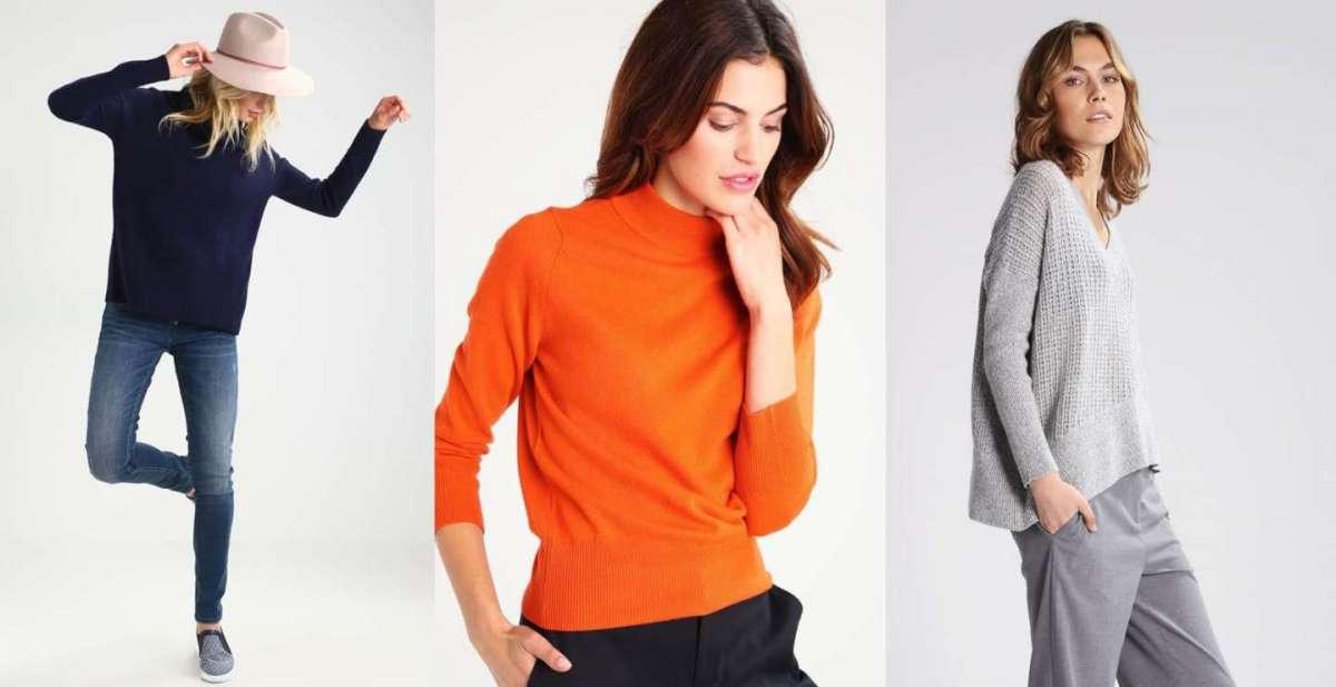 Maglioni di cashmere, i modelli più fashion per l'inverno [FOTO]
