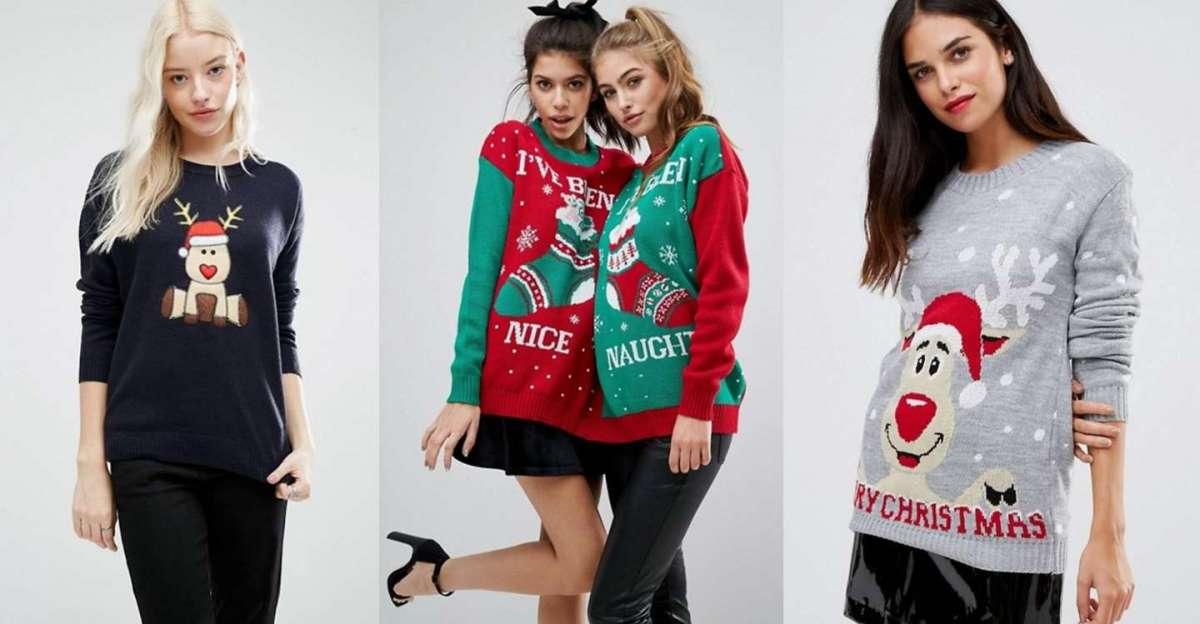 Maglioni natalizi, le proposte più fashion per le feste [FOTO]