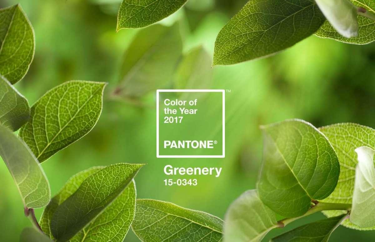 Matrimonio color greenery per il 2017