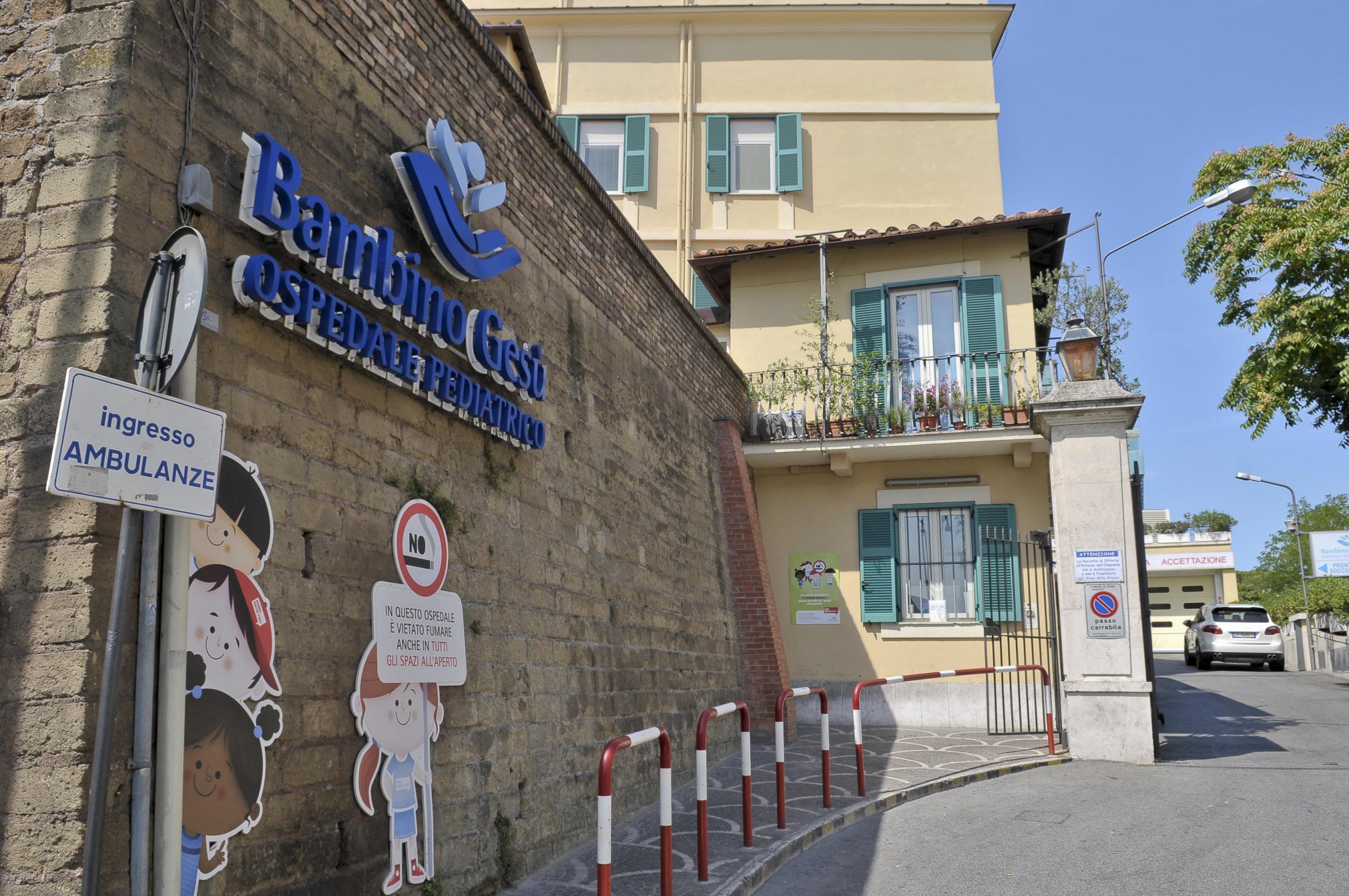 L'Ospedale Pediatrico Bambino Gesù