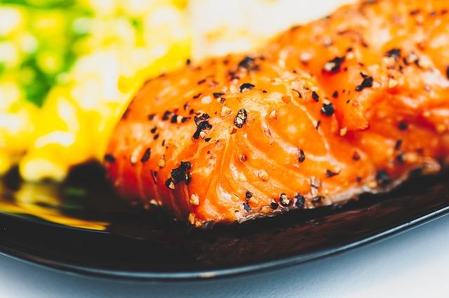ricetta salmone agrumi