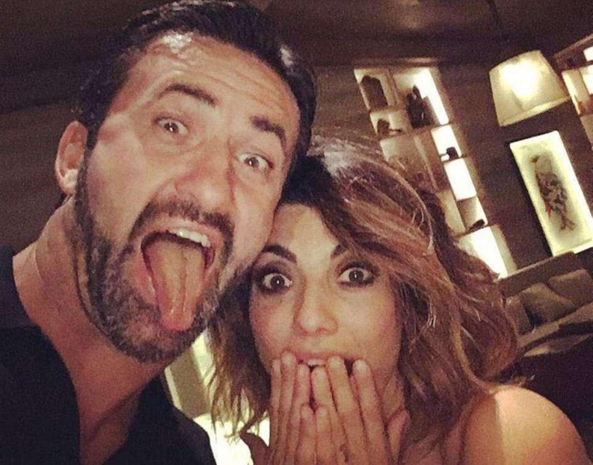 Samanta Togni e Christian Panucci