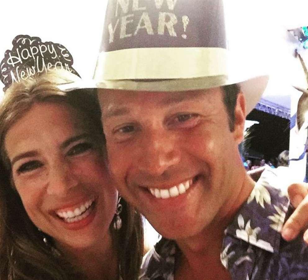 Veronica Maya e Marco Moraci si sono sposati ai Caraibi
