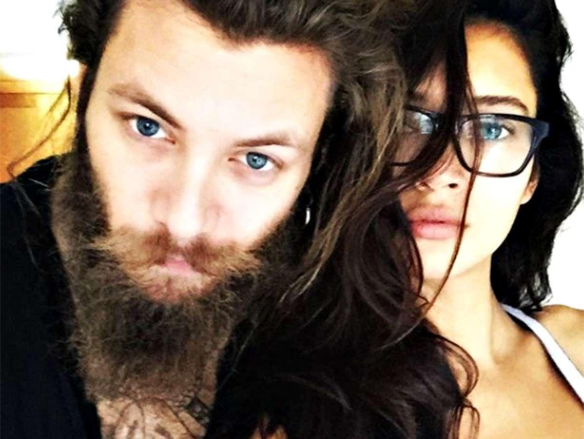 Andrea Marcaccini con lex fidanzata Daniela De Jesus