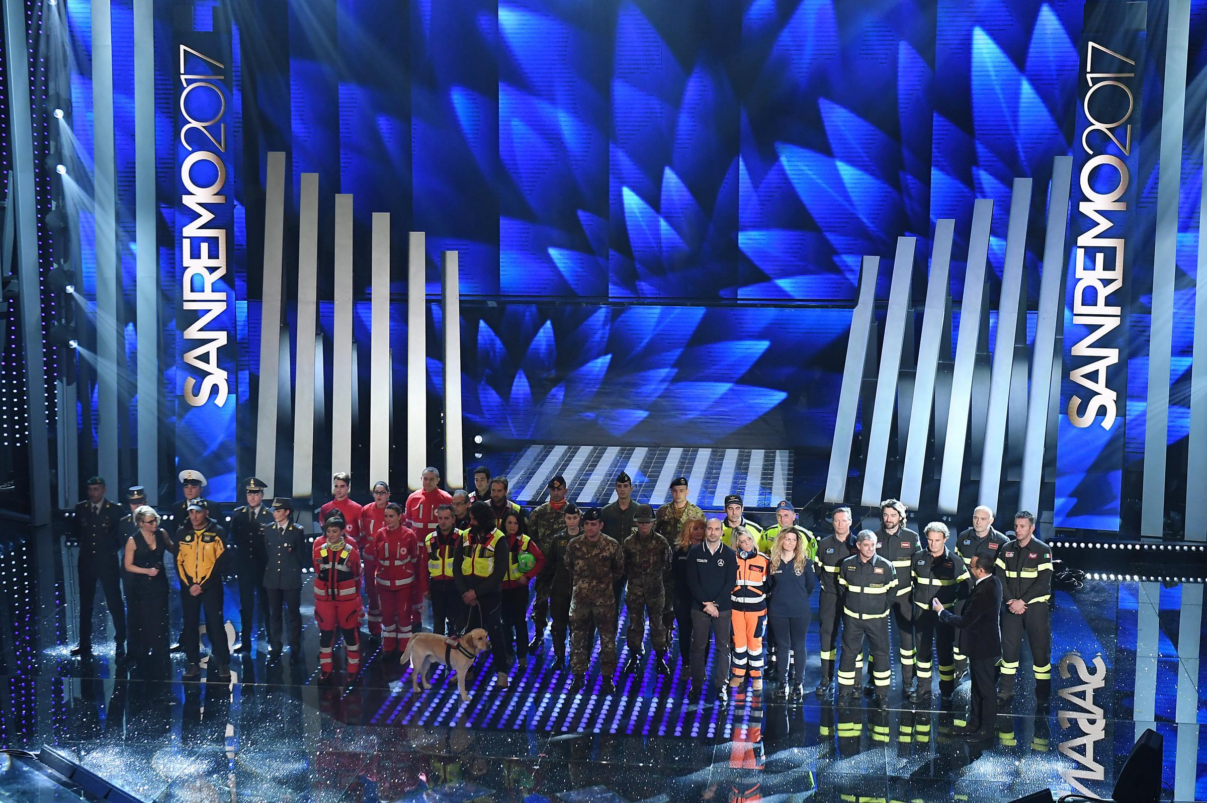 Festival di Sanremo 2017 e la svolta sociale della kermesse: dal bullismo al terremoto