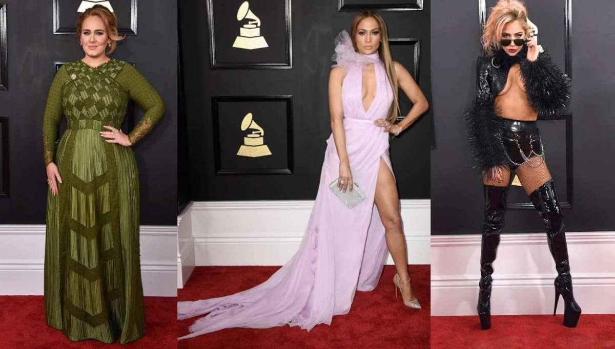 Gli abiti delle star ai Grammy 2017