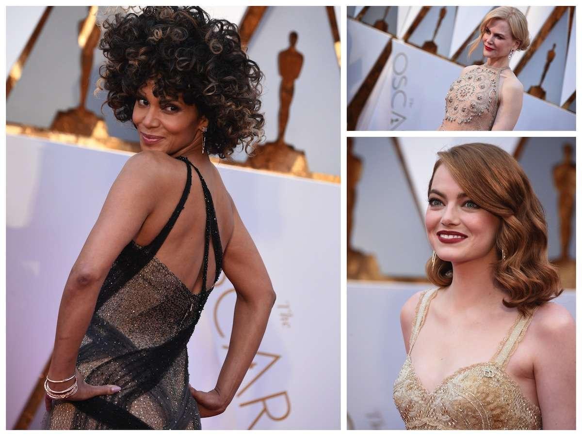 Oscar 2017, i beauty look delle star [FOTO]