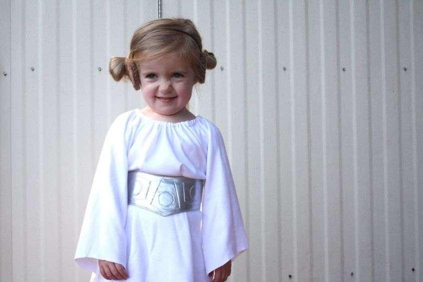 Star Wars Guerre Stellari il costume della Principessa Leila