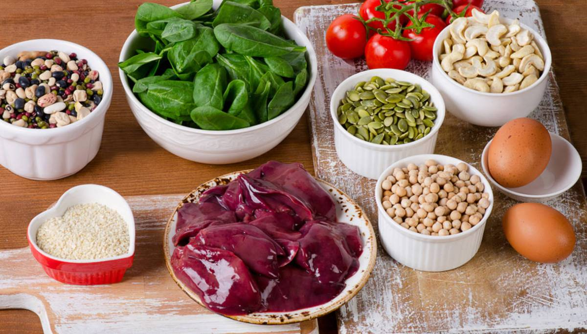alimenti che contengonopiùferro