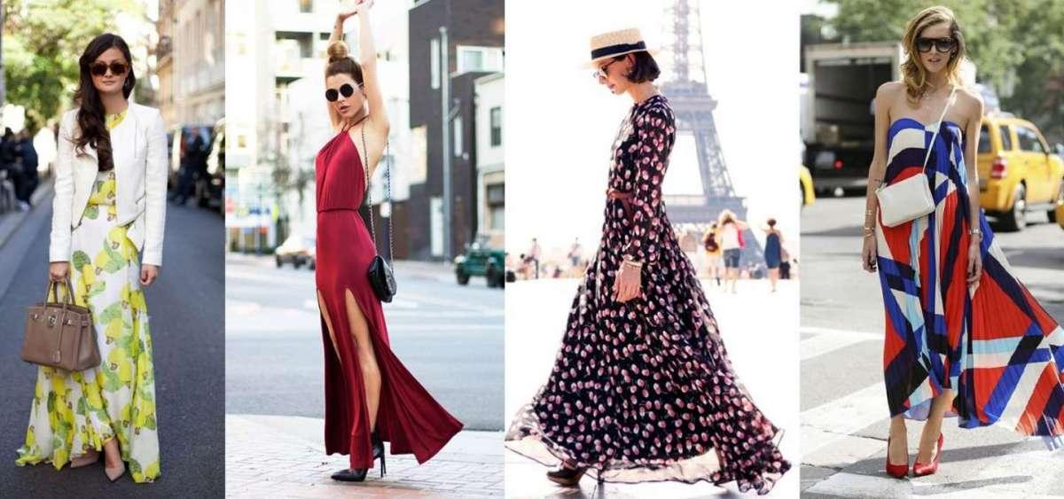 Come abbinare gli abiti lunghi: consigli per look fashion e di tendenza [FOTO]