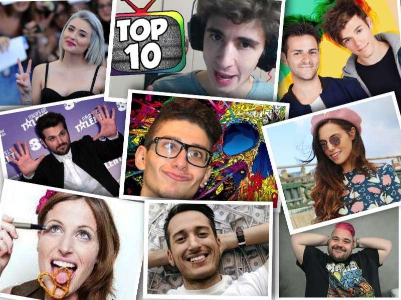 Youtuber italiani: ecco quali sono i più famosi