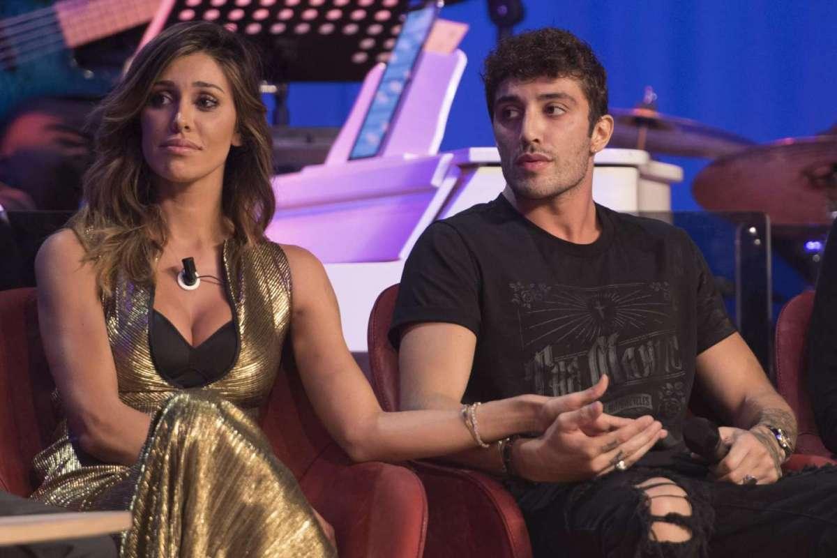 Belen Rodriguez e Andrea Iannone al Maurizio Costanzo Show