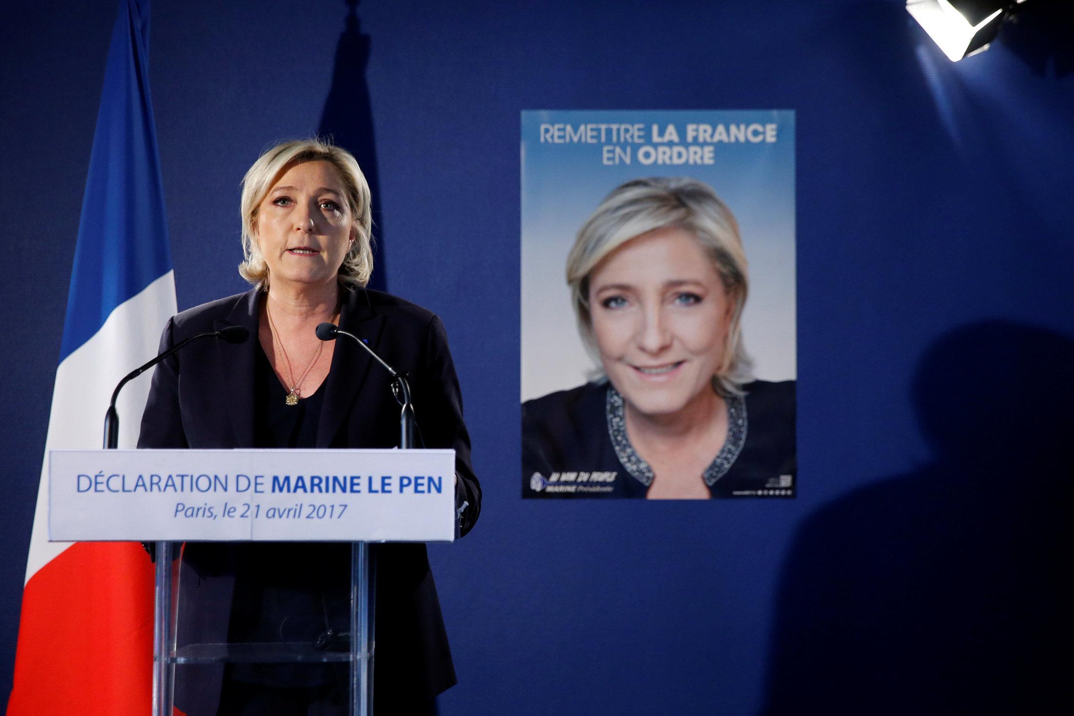 Marine Le Pen candidata alle presidenziali francesi