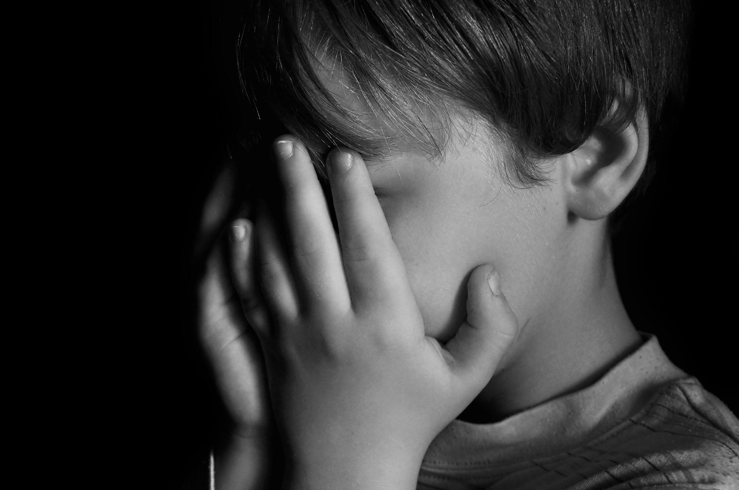 child abuse crying