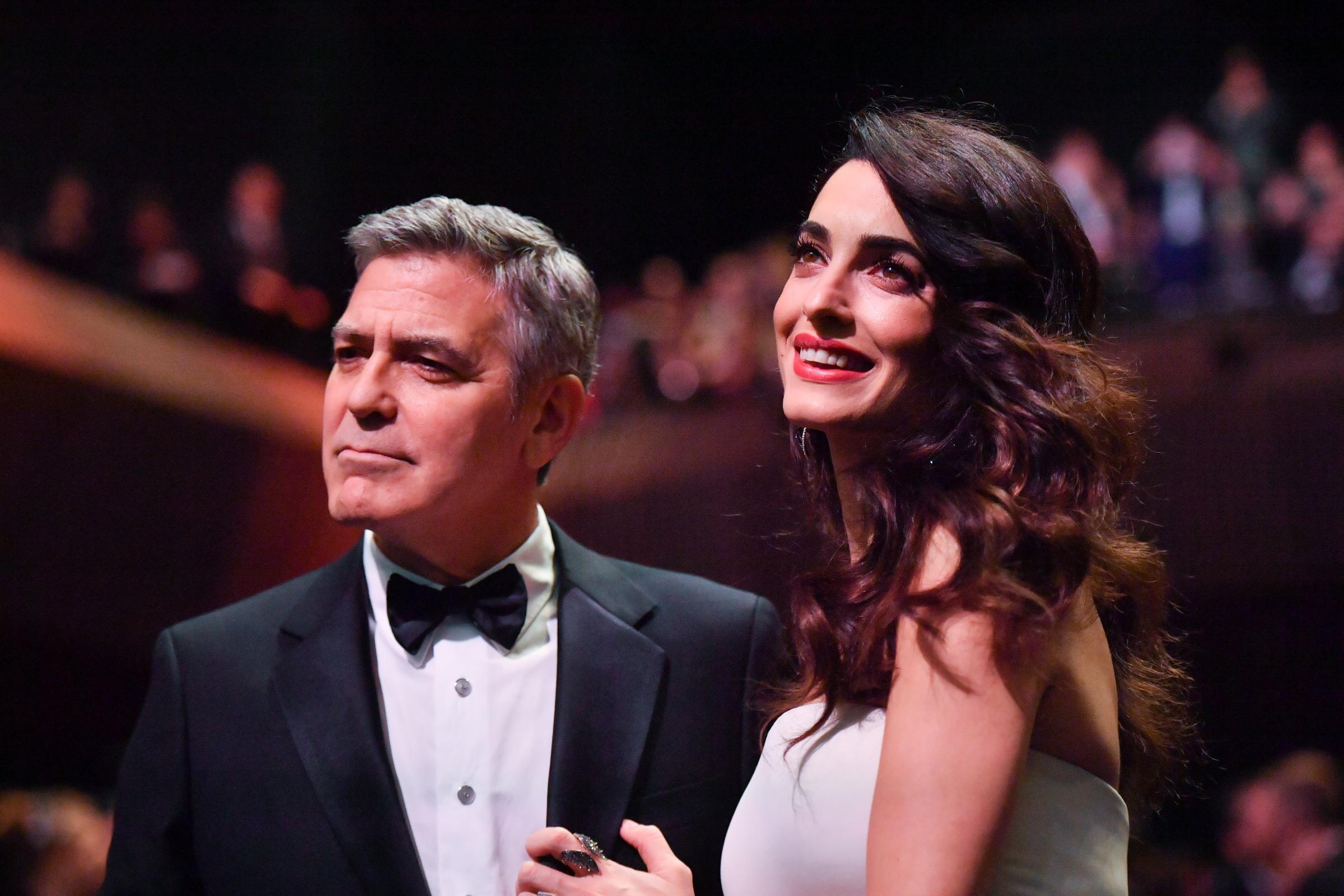 George Clooney papà: il parto di Amal Alamuddin è questione di giorni