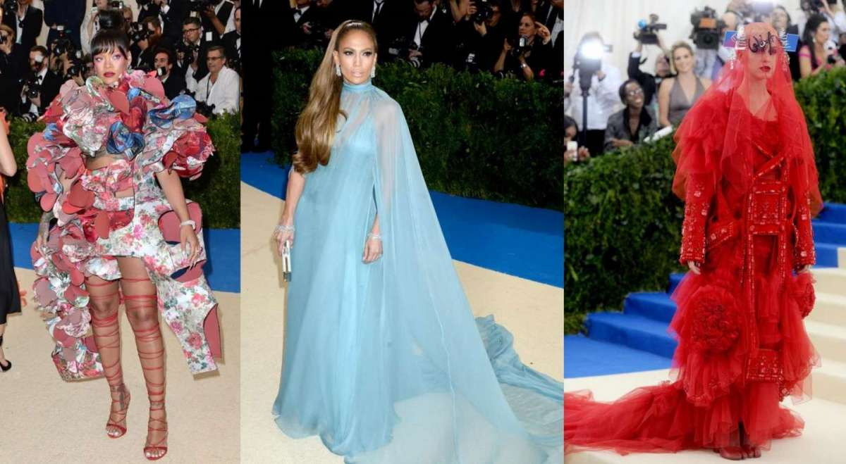 Met Gala 2017: i look più fashion delle star sul red carpet