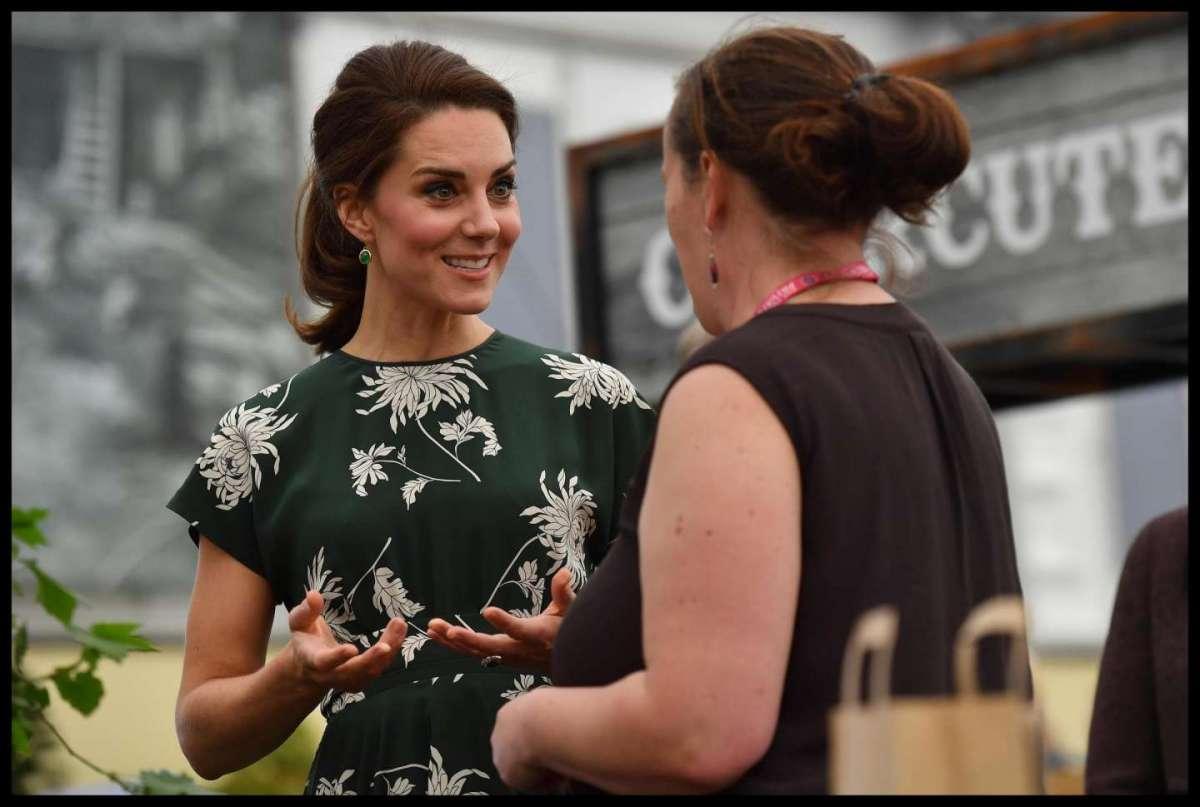 Kate Middleton al Chelsea Flower Show