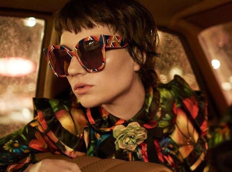Occhiali da sole Gucci Primavera/Estate 2017: la collezione