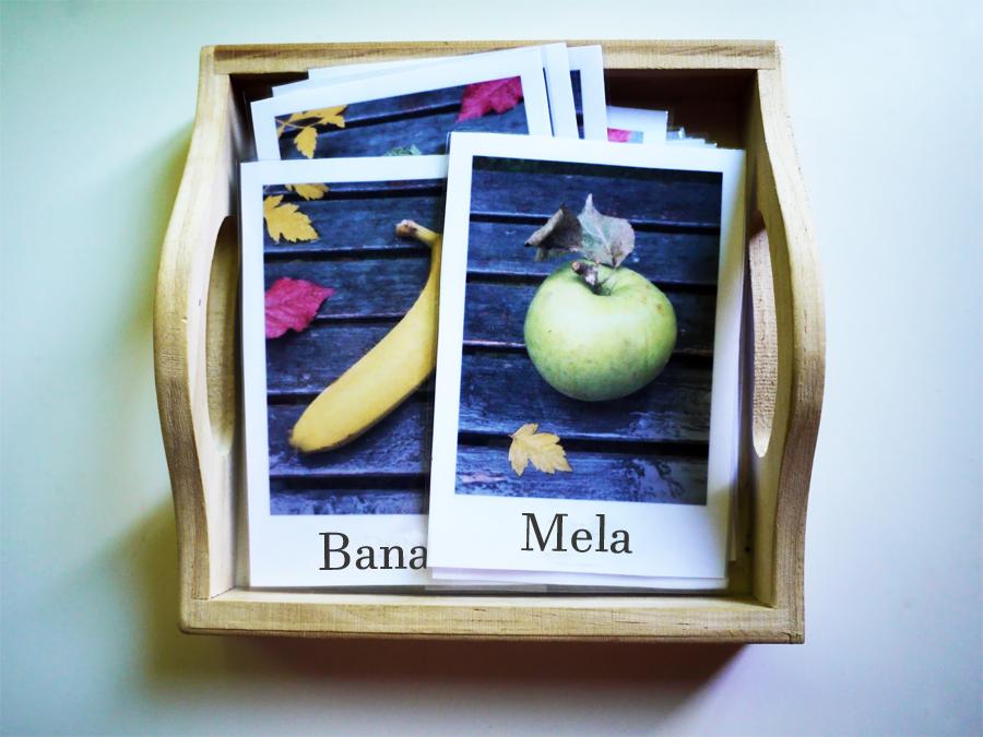 Le carte tematiche (o delle nomenclature) del Metodo Montessori