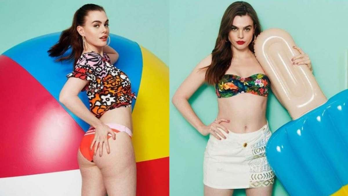 Charli Howard, la modella curvy di Desigual, dice no a Photoshop