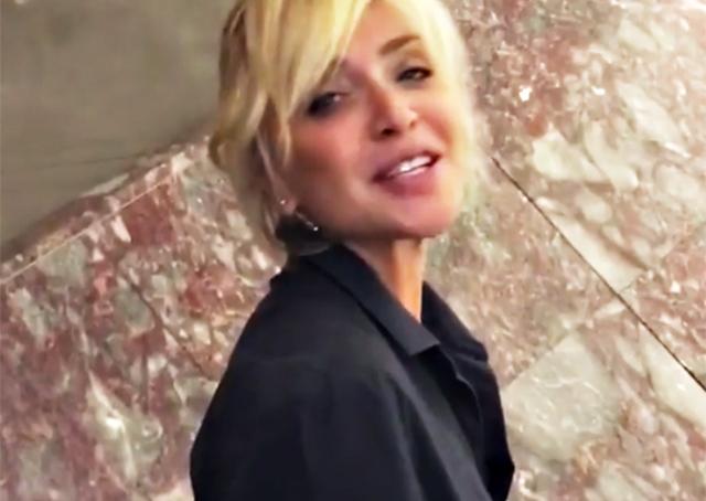 Paola Barale e il taglio shock ai capelli