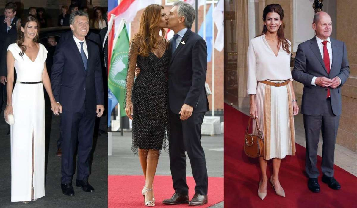 Juliana Awada: i look più belli della First Lady argentina