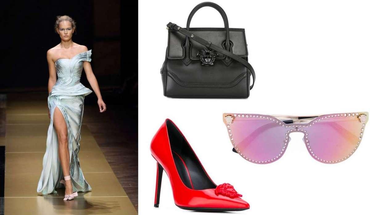 Versace scarpe, occhiali, borse, abiti: le creazioni più belle del marchio