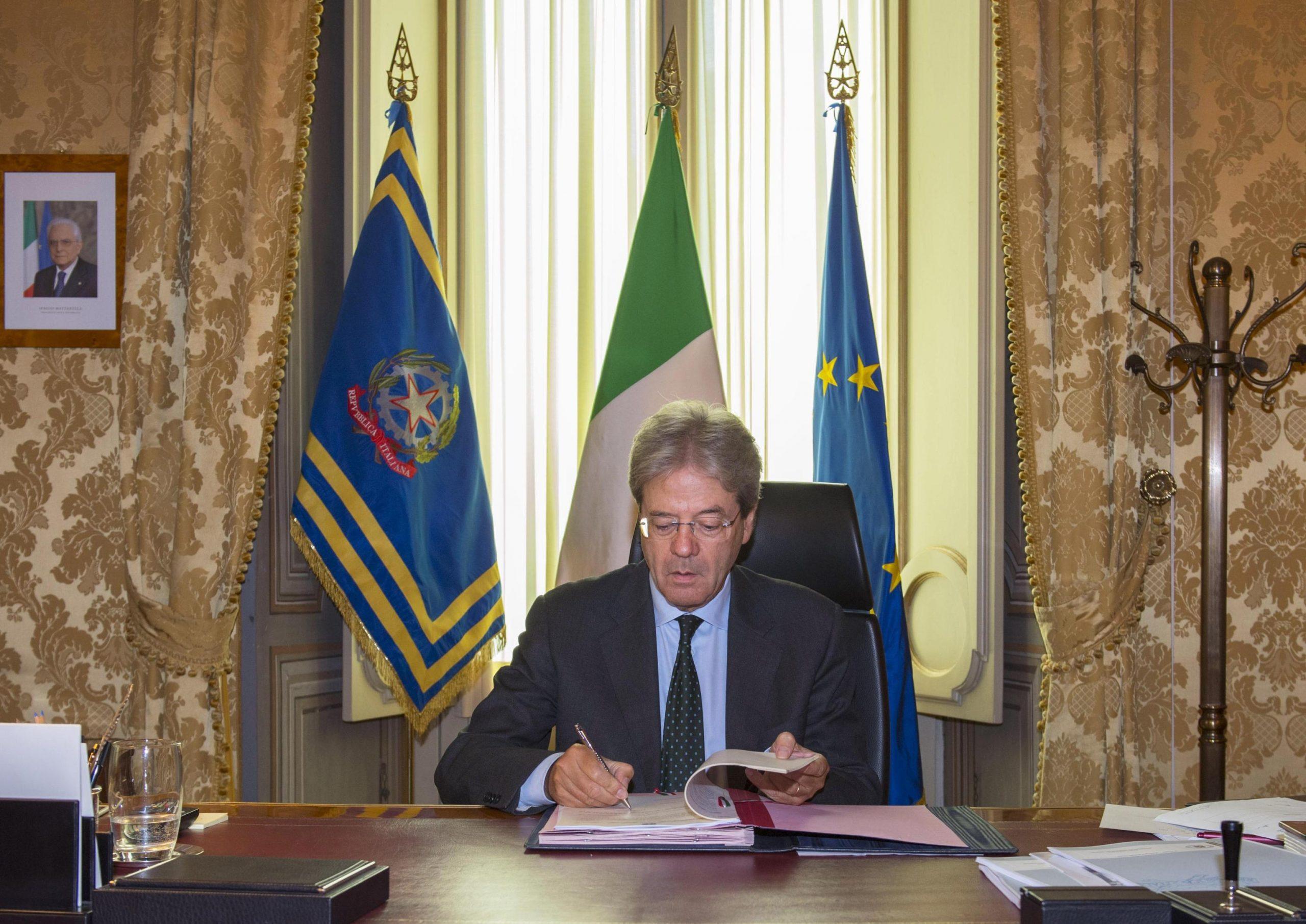 Pensioni: Gentiloni firma decreto su Ape volontaria