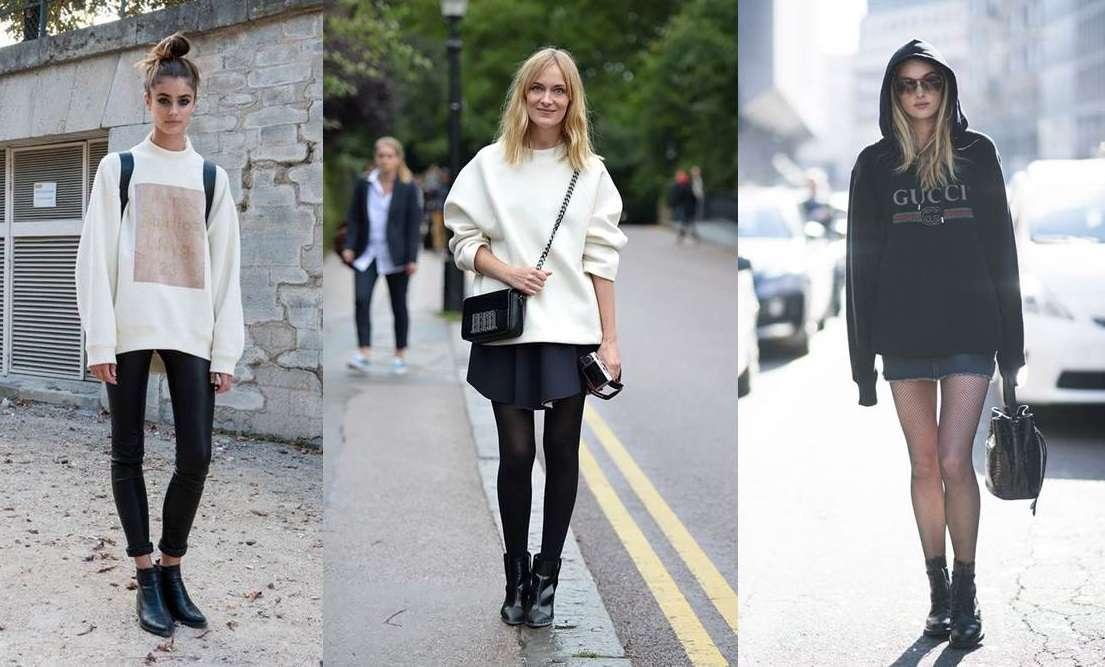 Felpe larghe e oversize: come abbinarle per outfit alla moda
