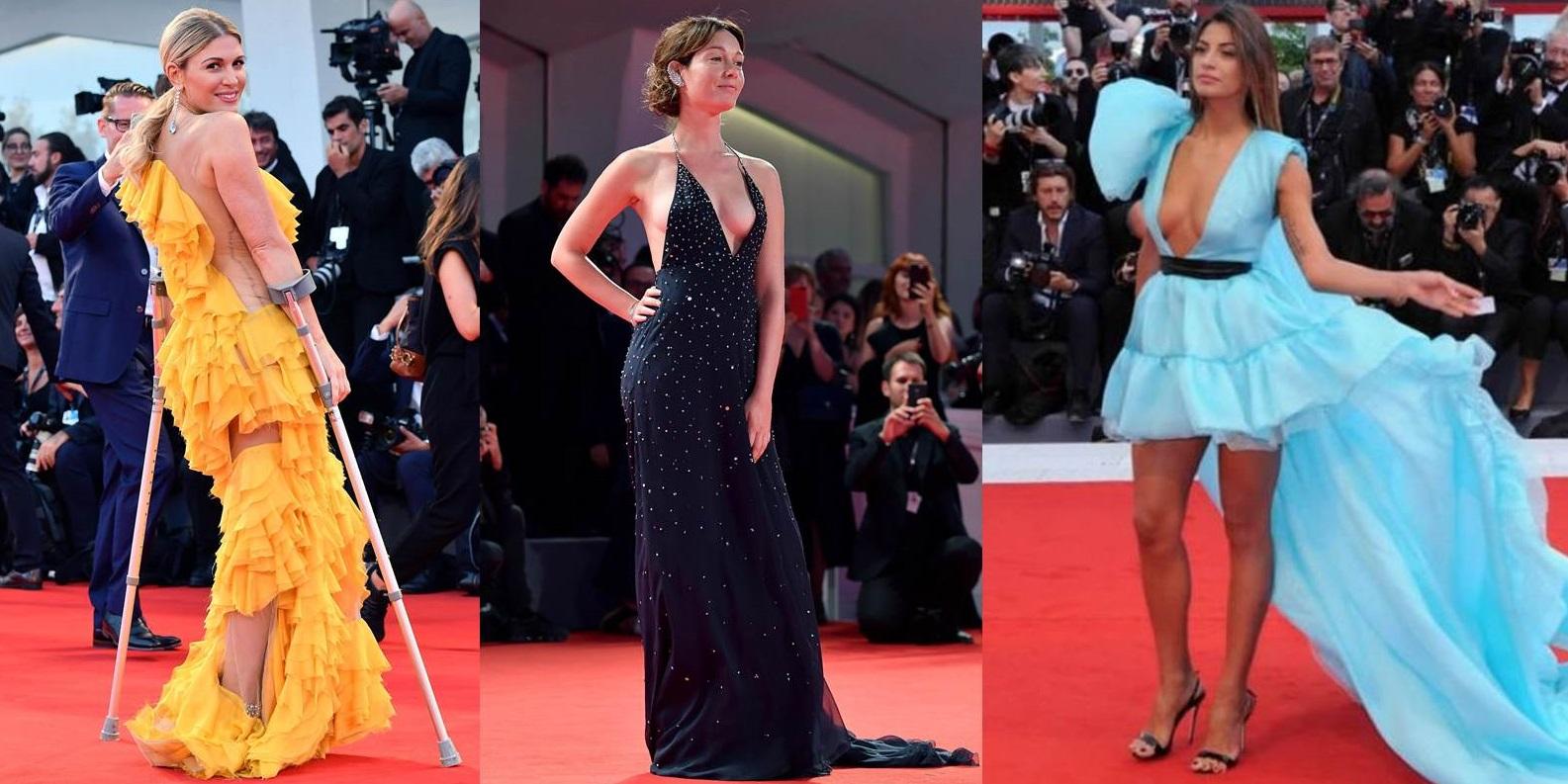 Festival del Cinema di Venezia: i look che fanno scandalo