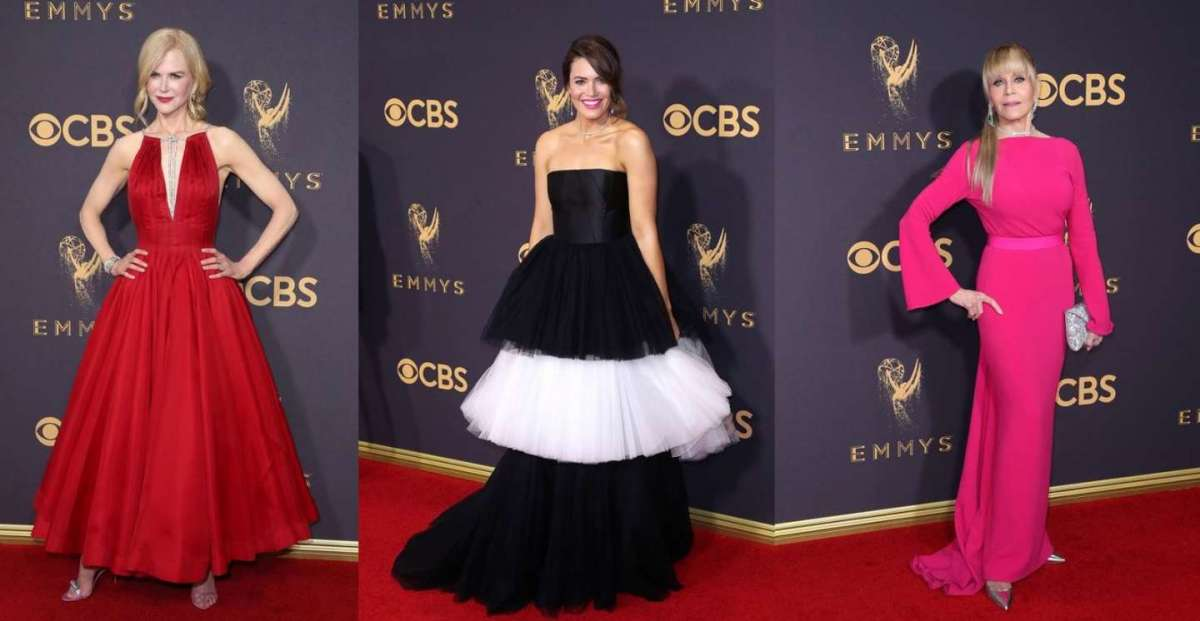 Emmy Awards 2017, i look sul red carpet