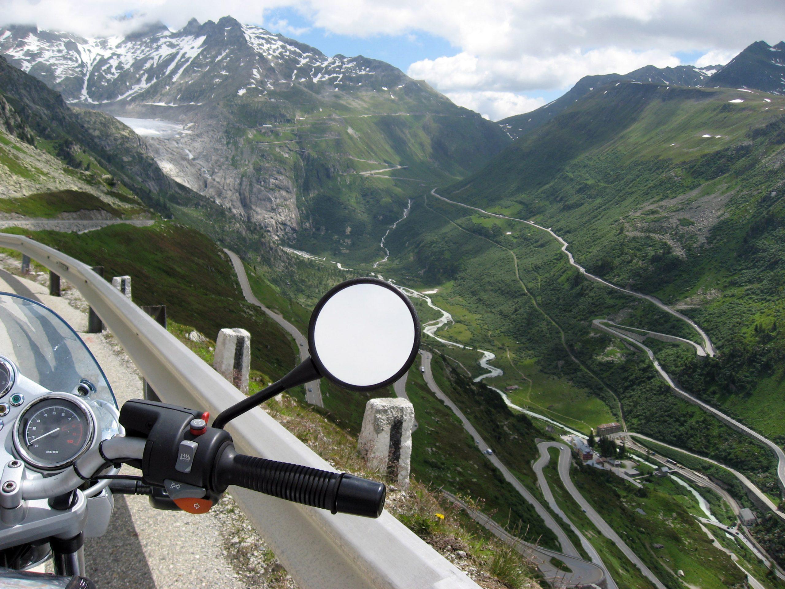 Viaggio in Svizzera in moto