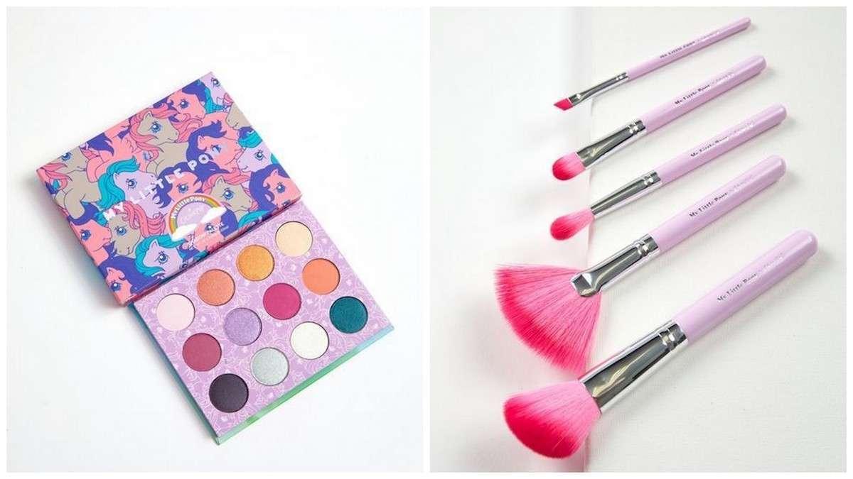 Colourpop lancia una collezione make-up ispirata a Mio Mini Pony
