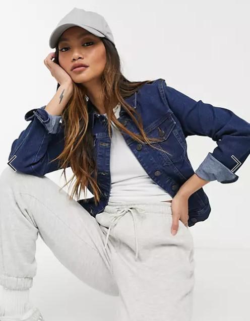 giacca jeans tuta