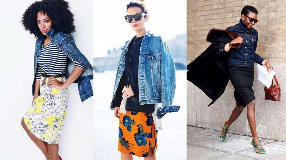 Giubbino di jeans: gli abbinamenti più fashion [FOTO]