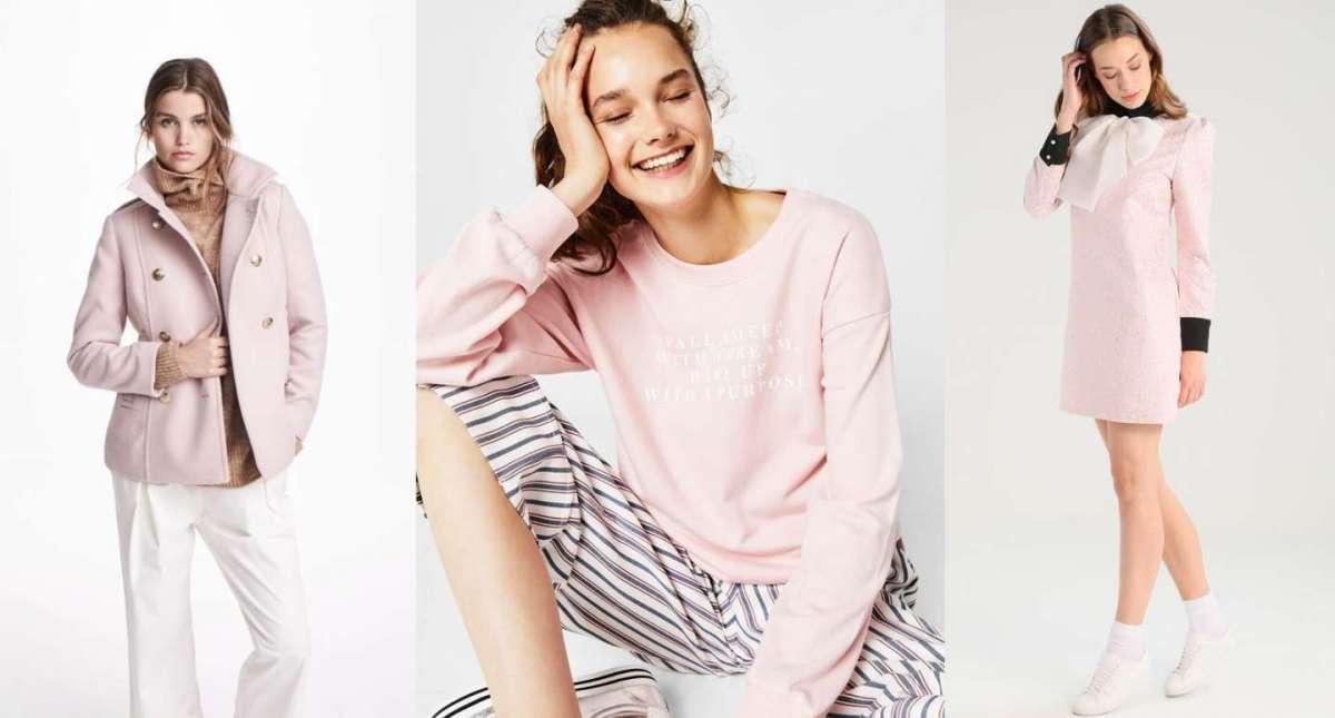 Vestiti e accessori rosa Millennial Pink