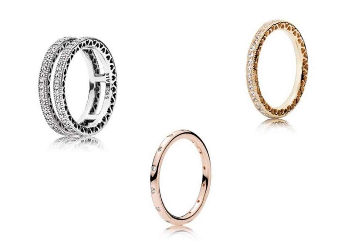 Fedine Pandora, i modelli più belli in argento, rosa e oro