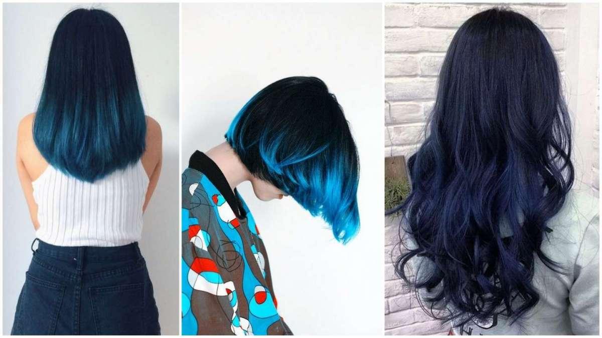 Shatush blu: come farlo, a chi sta bene e le tonalità più belle