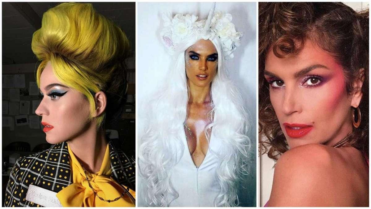 Il trucco di Carnevale delle star: il make up più originale delle celebrity