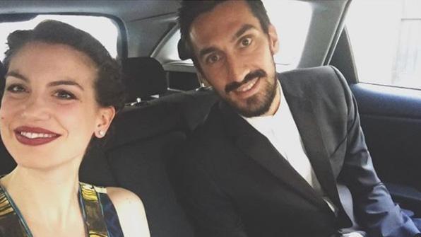 Astori, la compagna Francesca Fioretti decide di vivere a Firenze