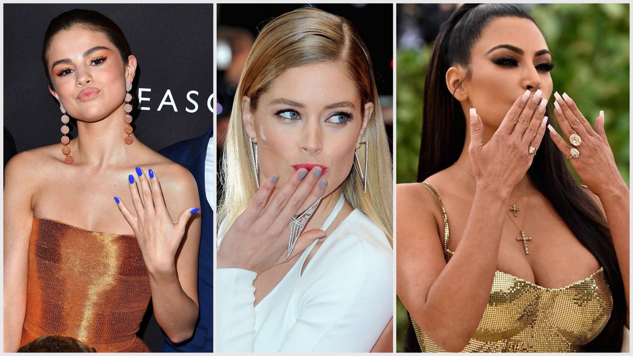 20 manicure e nail art delle star da indossare per l'estate