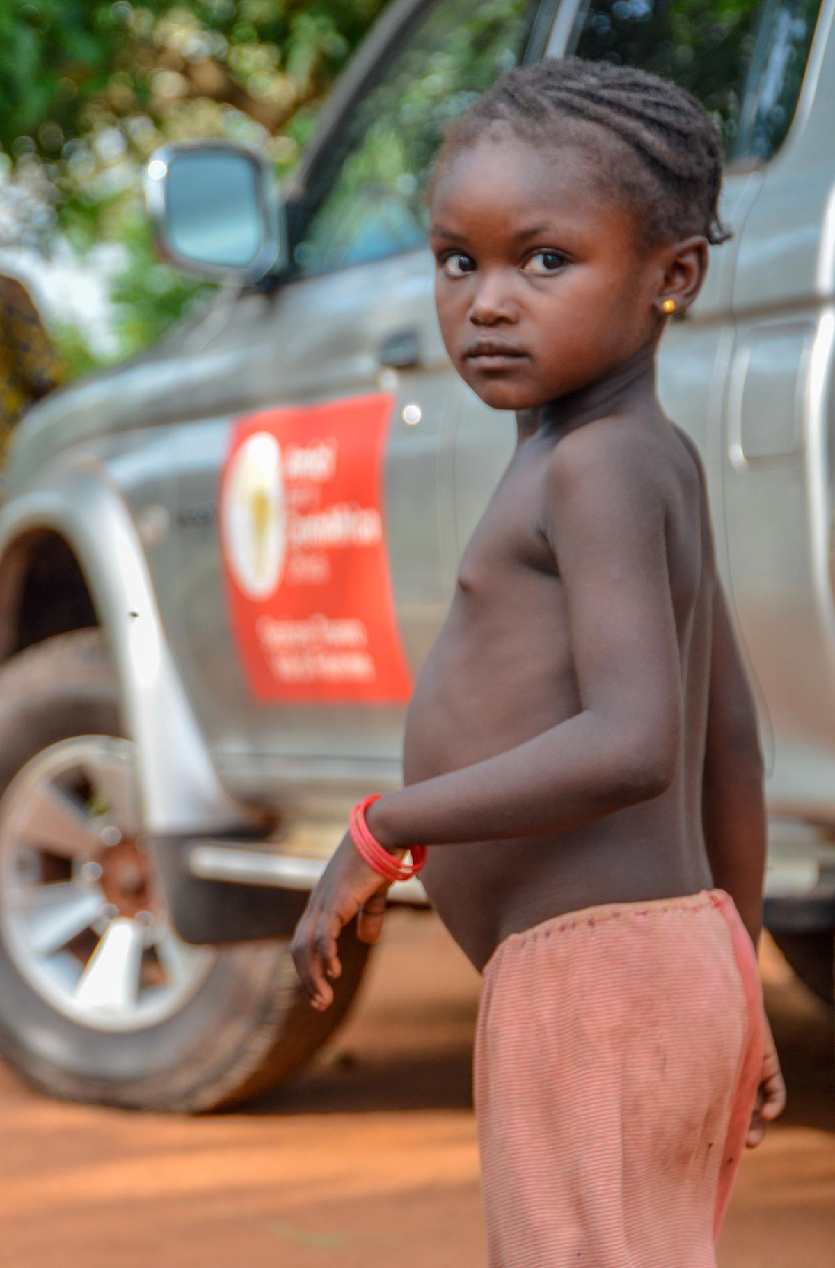 Una goccia d acqua per il centrafrica