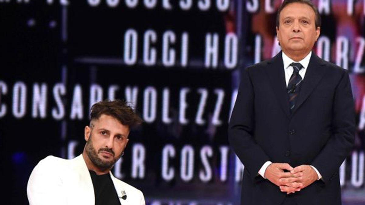 Fabrizio Corona da Chiambretti: 'Sono un esempio per i giovani'