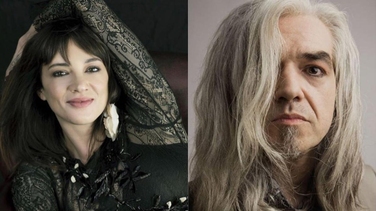 asia argento e morgan the voice